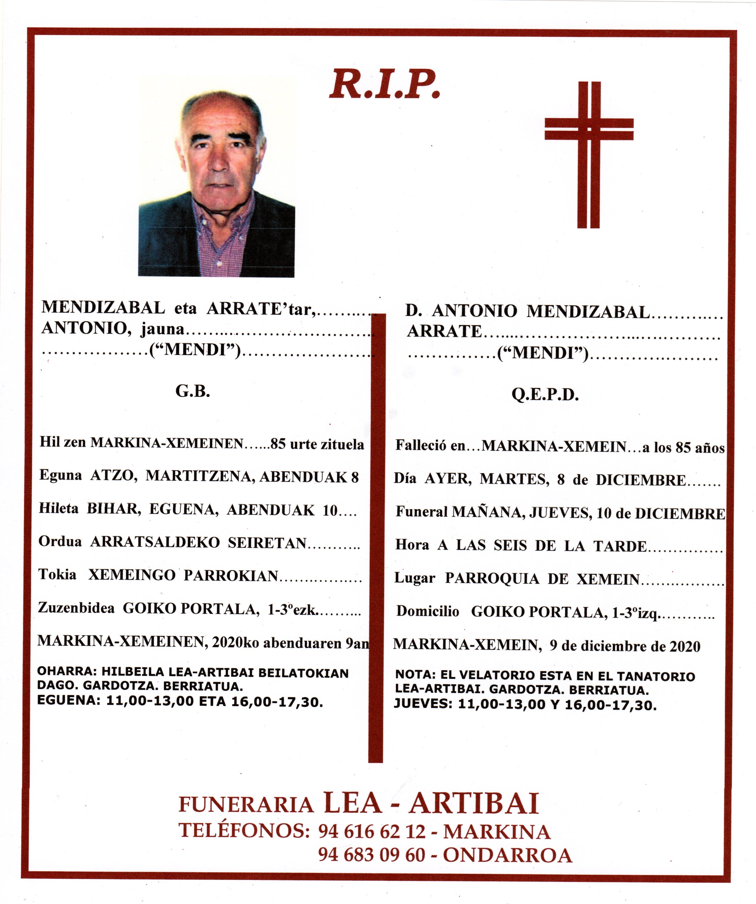 Antonio Mendizabal Arrate20201209_09492889
